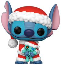 Disney Lilo & Stitch: Santa Stitch (with Scrump) - Pop! Vinyl Figure image