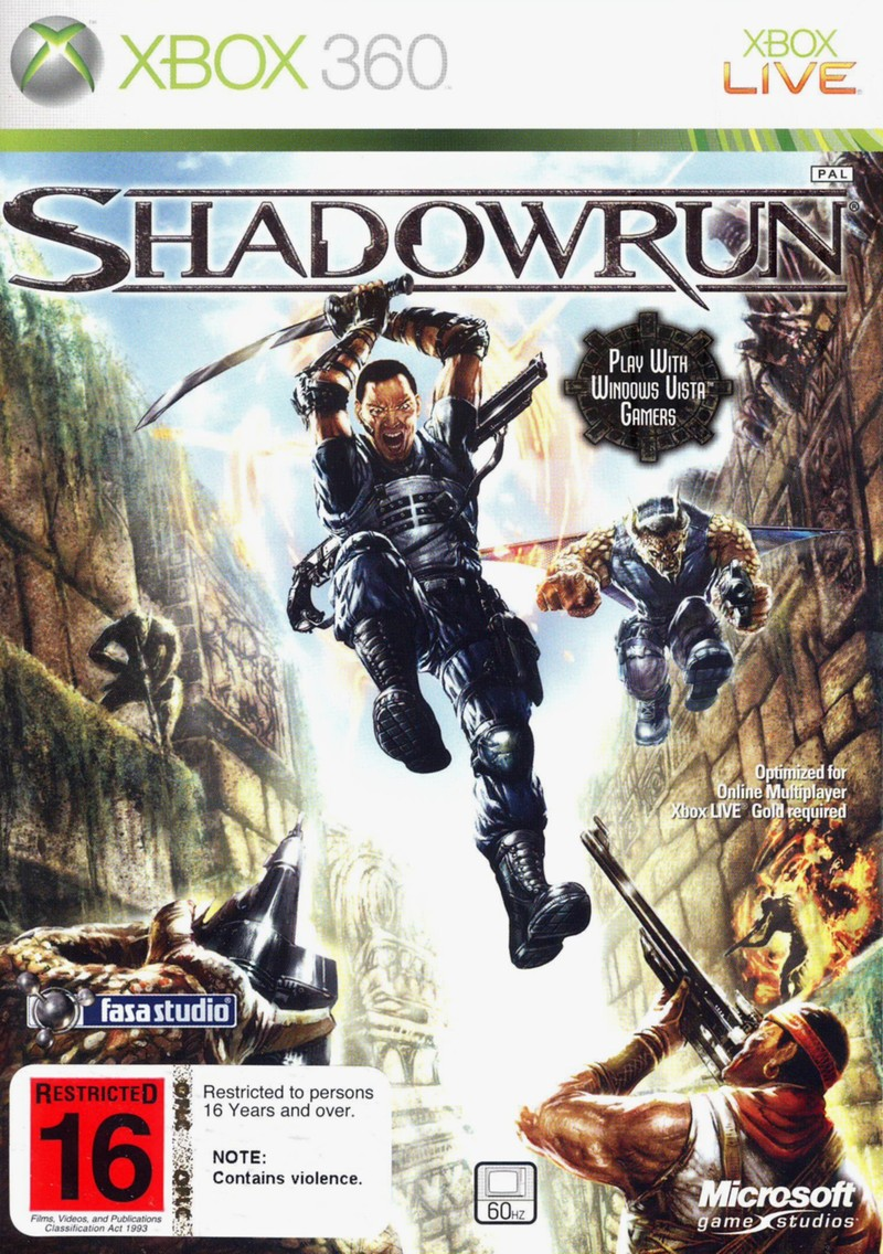 Shadowrun for Xbox 360 image