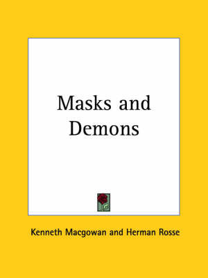 Masks and Demons (1924) by Herman Rosse