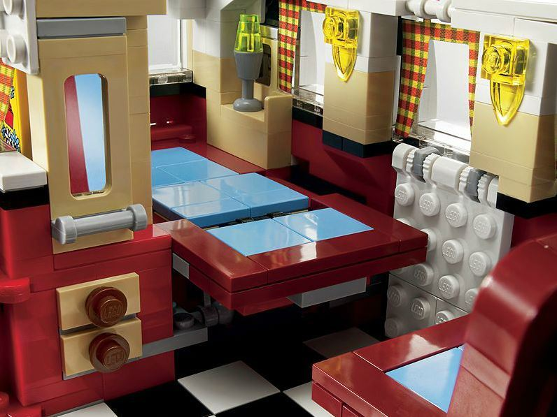 Lego Creator Volkswagen T1 Camper Van 10220 Toy At
