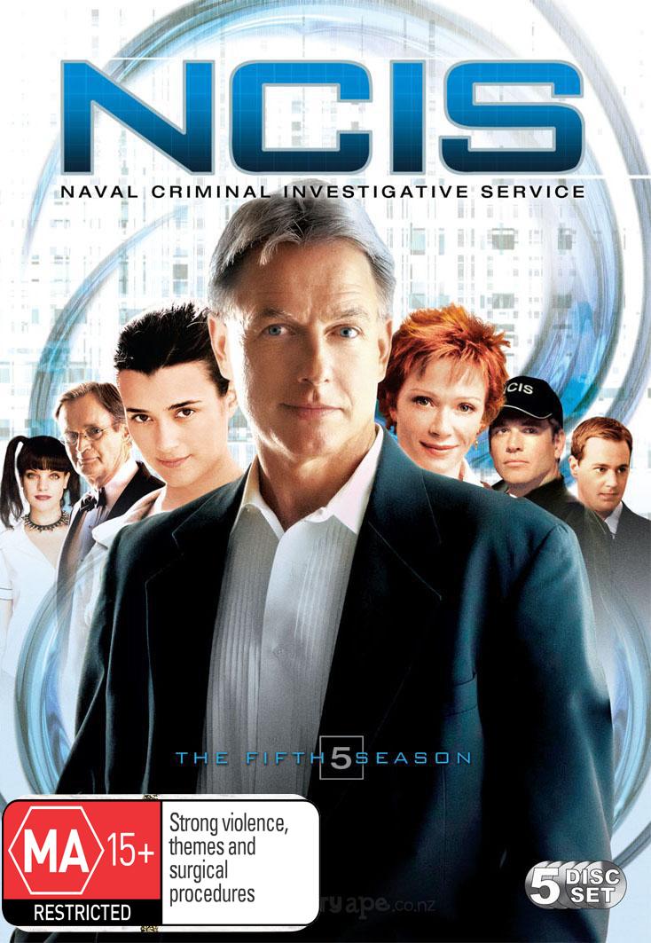 NCIS - Complete Season 5 (5 Disc Set) on DVD image