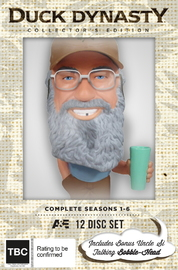 Duck Dynasty - The Complete Seasons 1-6 Collector's Edition on DVD