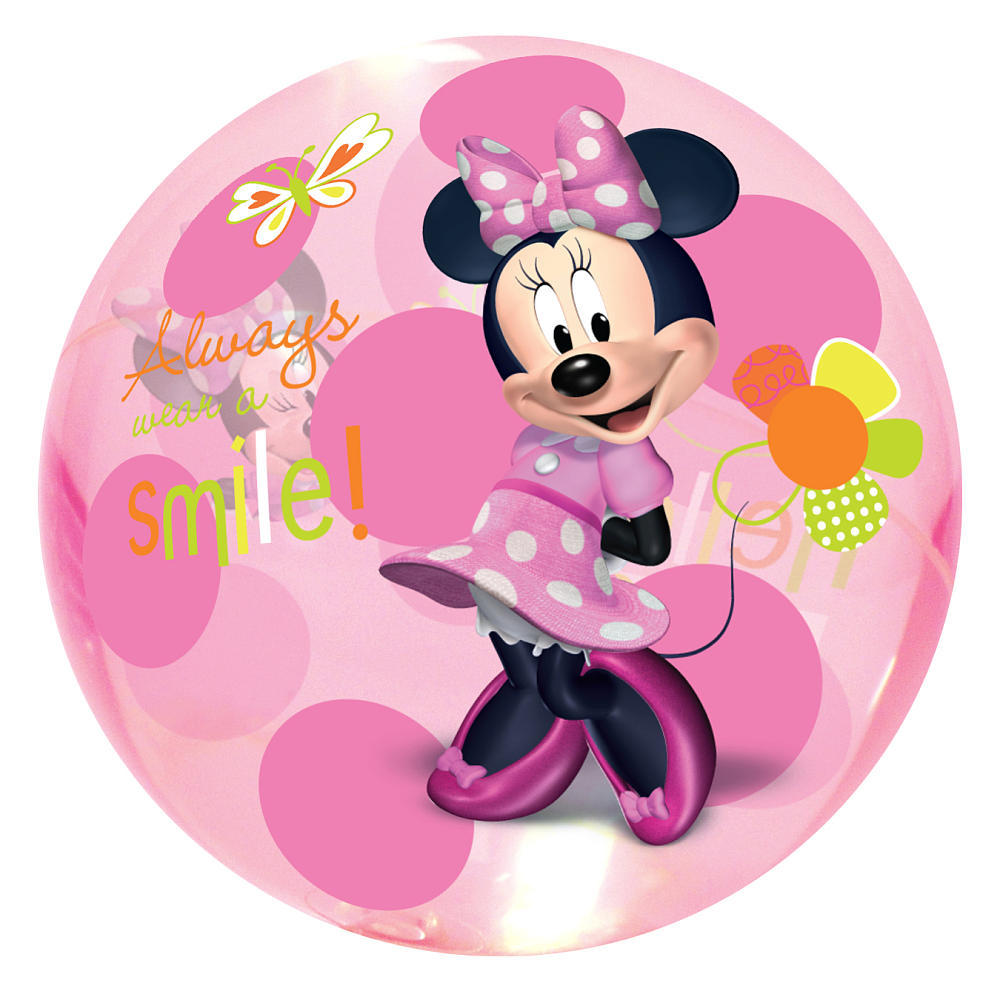minnie mouse light up ball image at mighty ape nz. Black Bedroom Furniture Sets. Home Design Ideas