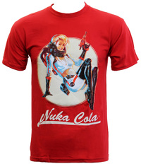 Fallout - Nuka Bombshell T-Shirt (Medium)