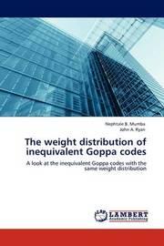 The Weight Distribution of Inequivalent Goppa Codes by Nephtale B. Mumba