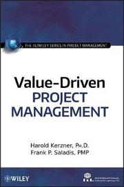 Value-Driven Project Management by Harold R. Kerzner