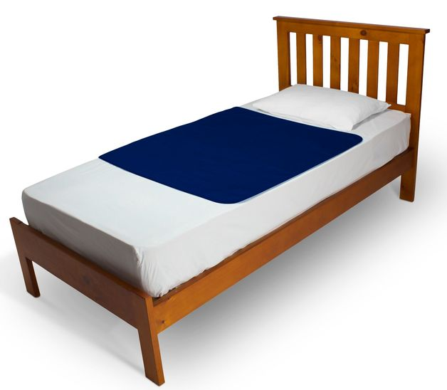 Brolly Sheets: Bed Pad without Wings - Navy