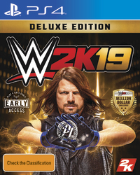 WWE 2K19 Deluxe Edition for PS4