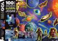 Hinkler: 100-Piece Glowing Jigsaw Puzzle - Space