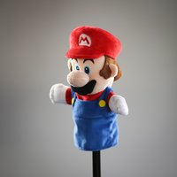 "Super Mario Bros: Mario - 10"" Plush Puppet"