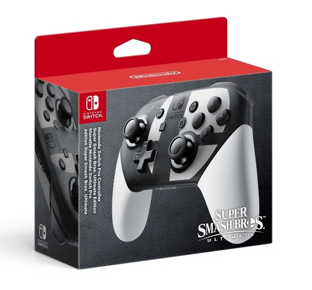 Nintendo Switch Pro Controller - Super Smash Bros Ultimate Edition for Switch
