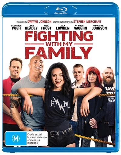 Fighting With My Family on Blu-ray