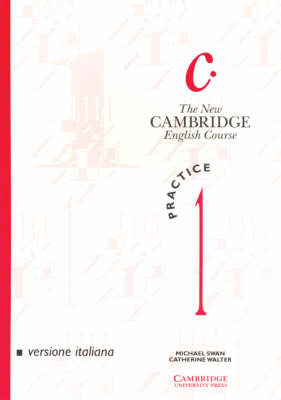 The New Cambridge English Course 1 Practice book Italian edition by Michael Swan image