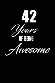 42 years of being awesome by Nabuti Publishing image
