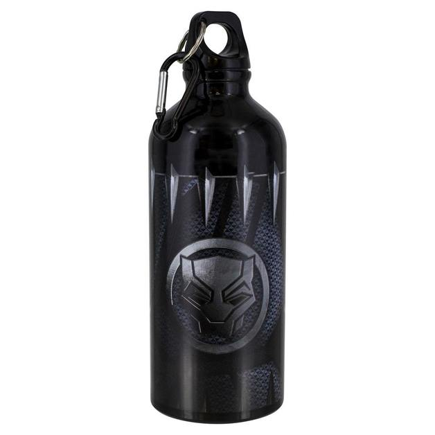 Black Panther: Aluminium Water Bottle Iconic Logo & Claws