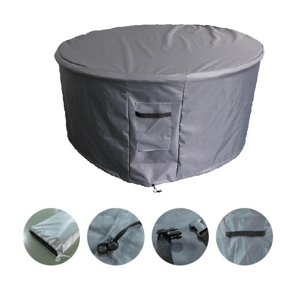 Outdoor Heavy Duty 7 Piece Round Table Setting Furniture Cover - Ø240 x 80cm(H)