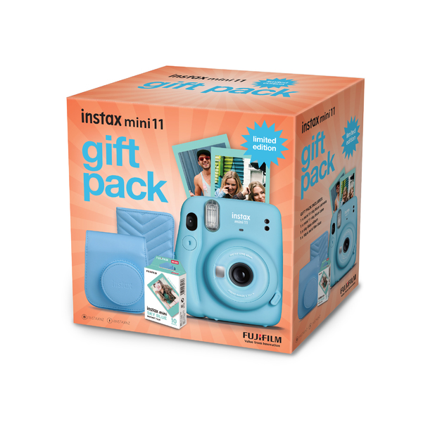 FujiFilm Instax Mini 11 Gift Pack Limited Edition - Blue