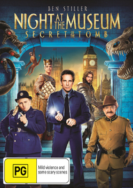 Night At The Museum 3: Secret Of The Tomb on DVD