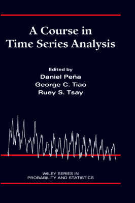 A Course in Time Series Analysis by Daniel Pena image
