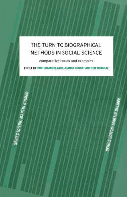 The Turn to Biographical Methods in Social Science by Prue Chamberlayne image