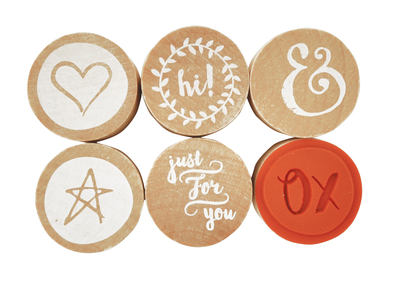 Kaisercraft Lucky Dip Rubber Stamps - Just For You (6pk)