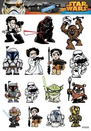 Star Wars: Heroes & Villains - Family Graphics Set