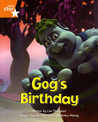 Fantastic Forest Orange Level Fiction: Gog's Birthday by Lisa Thompson image
