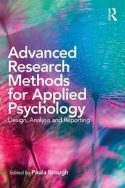 Advanced Research Methods for Applied Psychology image