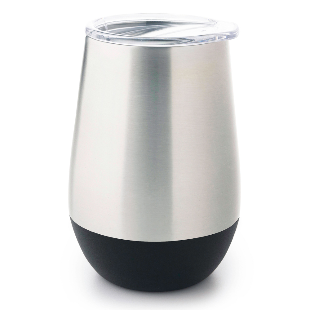 Stainless Steel Insulated Glass - Black (350ml) image