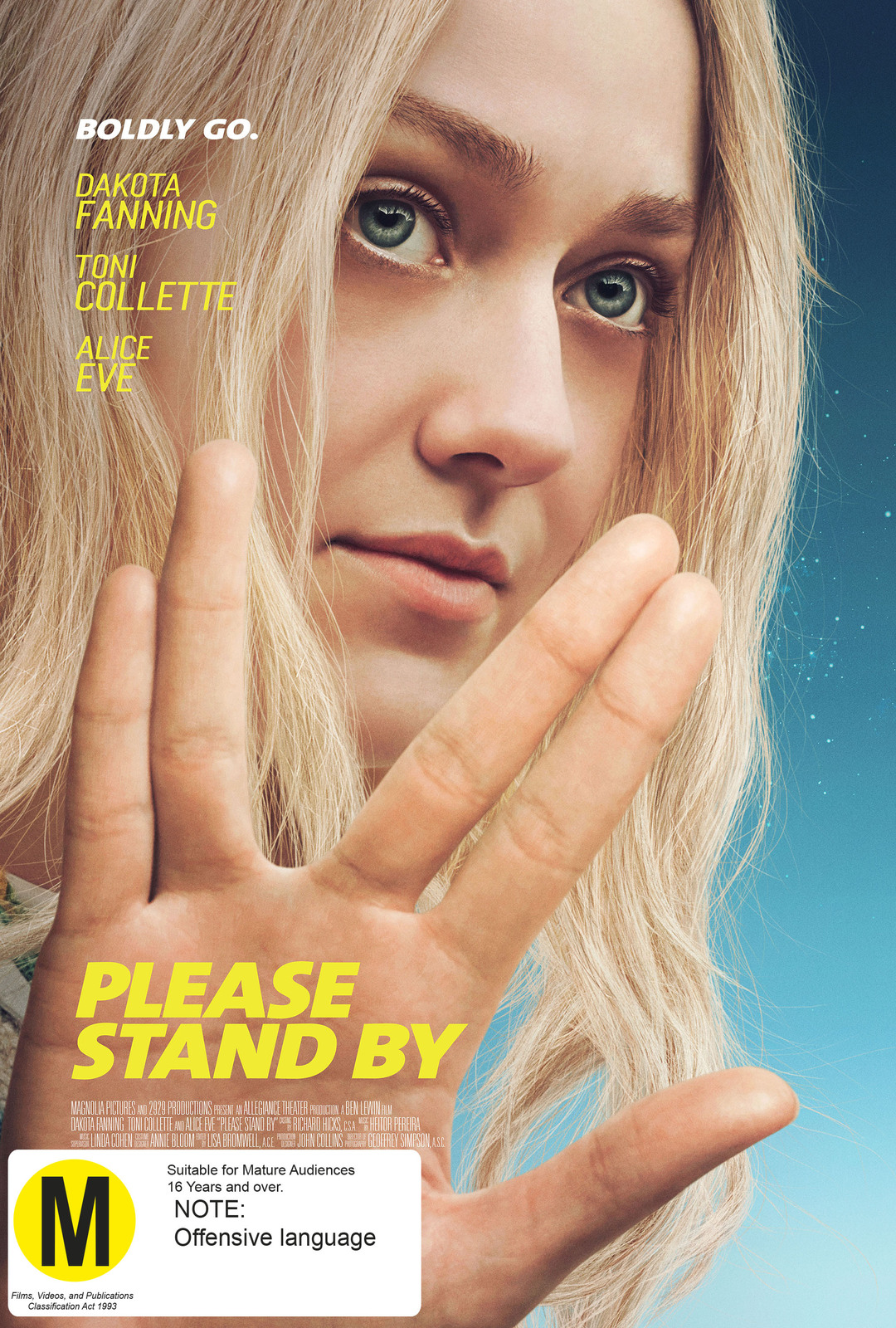 Please Stand By on DVD image