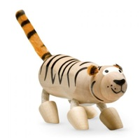 Anamalz: Wooden Figure - Tiger