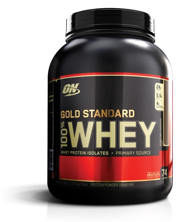 Optimum Nutrition Gold Standard 100% Whey - Double Rich Chocolate (2.27kg)