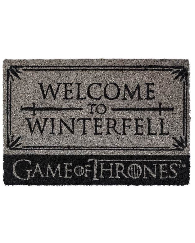 Game Of Thrones - Welcome To Winterfell Door Mat