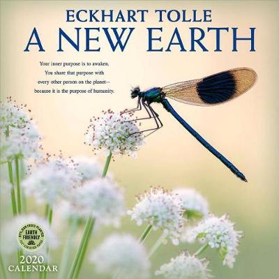 New Earth 2020 Wall Calendar by Eckhart Tolle
