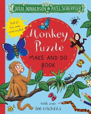 Monkey Puzzle Make and Do Book by Julia Donaldson