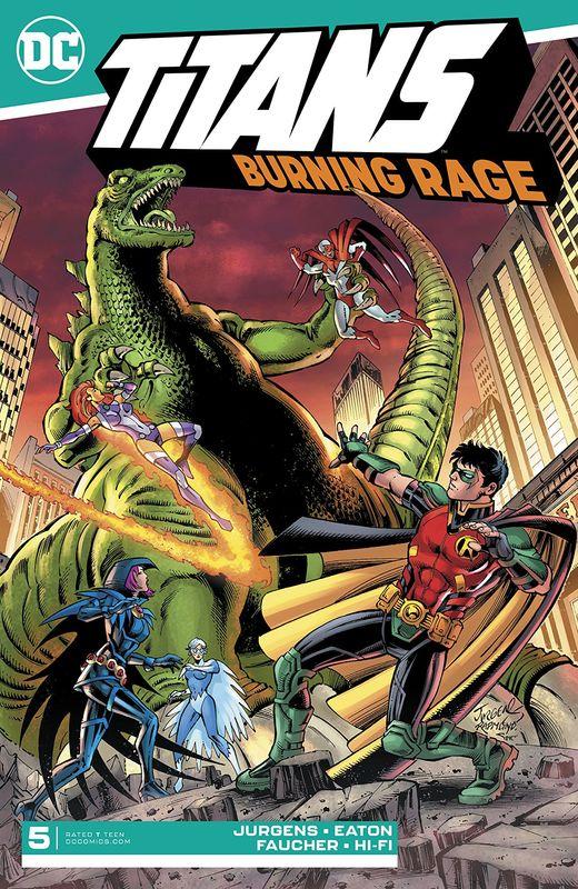Titans: Burning Rage - #5 (Cover A) by Dan Jurgens
