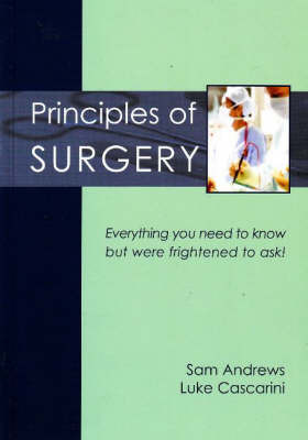 Principles of Surgery by Sam Andrews image