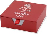 Keep Calm and Carry On Desk Notes (250 Sheets)