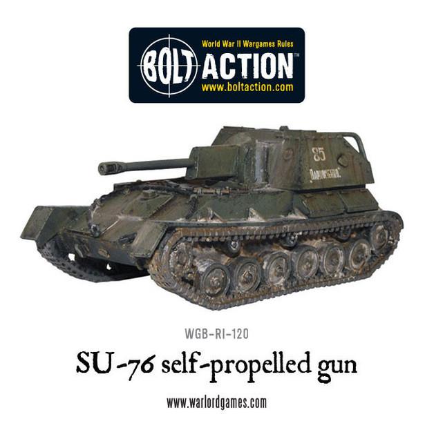 SU-76 Self Propelled Gun