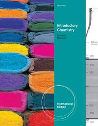 Introduction to Chemistry by Steven S Zumdahl