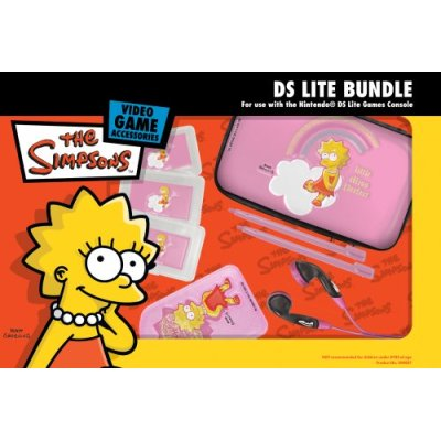 The Simpsons Officially Licensed DS Lite Bundle - Lisa for Nintendo DS image