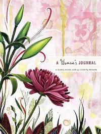 A Woman's Journal: A Blank Book With Quotes by Women (Large) by Cindy De La Hoz image
