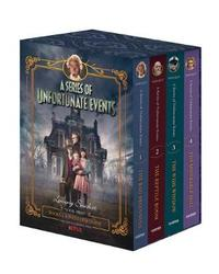 A Series of Unfortunate Events #1-4 Netflix Tie-In Box Set by Lemony Snicket