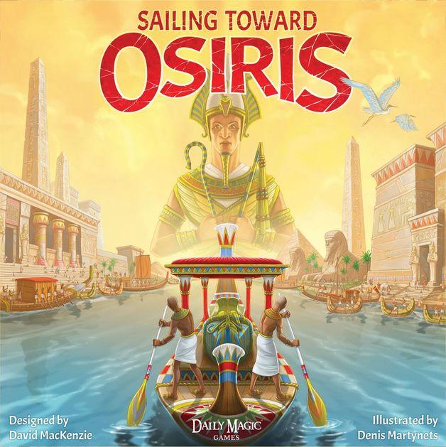Sailing Toward Osiris - Board Game