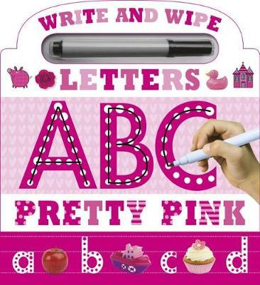 Write and Wipe Pink ABC by Thomas Nelson