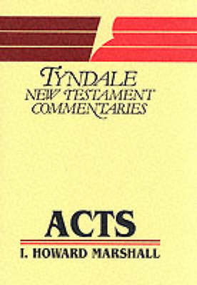 Acts of the Apostles: An Introduction and Commentary by I.Howard Marshall image