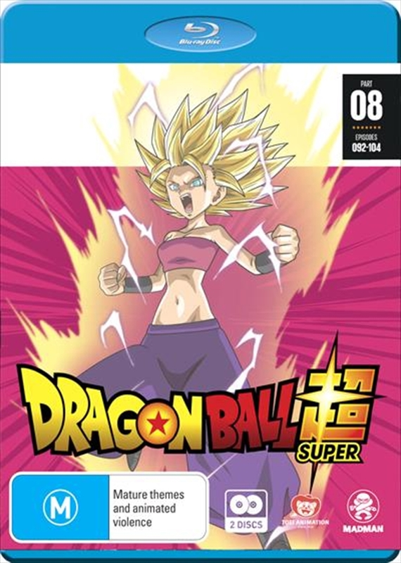 Dragon Ball Super - Part 8 (Eps 92-104) on Blu-ray
