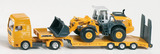 Siku Low Loader with Four Wheel Loader 1:87