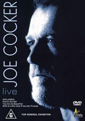 Joe Cocker on DVD