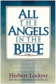 All the Angels in the Bible by Herbert Lockyer image
